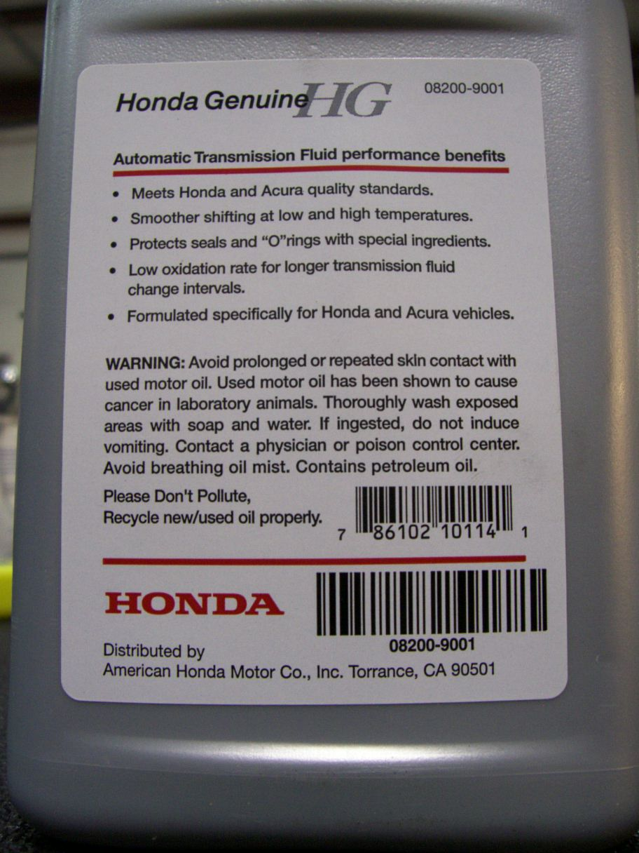 damage to any honda or acura